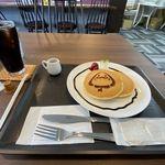 Cafe あるくっちゃ - 料理写真:ホットケーキセット(350円)