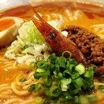 116157034 - 海老寿久担々麺(追いリゾ付き)