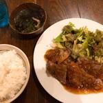 オレ流居酒屋角ちゃん - ステーキ定食