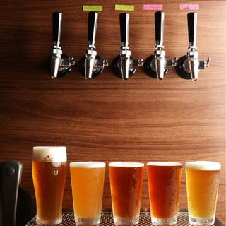 ●樽生の国産クラフトビールは4種類♪