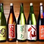 大衆酒場 スシビ  - 日本酒集合