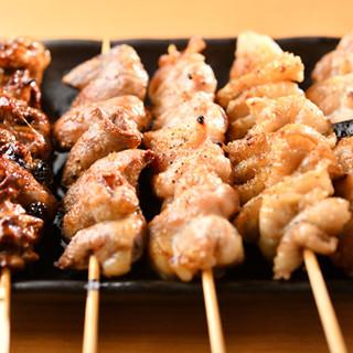 こだわりの焼鳥&創作串、リーズナブルな逸品料理も豊富にご用意