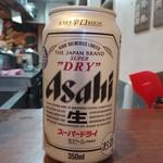 大岡家 - 缶ビール300円