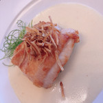 116168498 - 津軽鶏のソテー、サワークリームソース