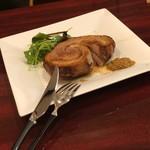 筑穂牛肉食道 1028 - 国産豚の低温ロースト