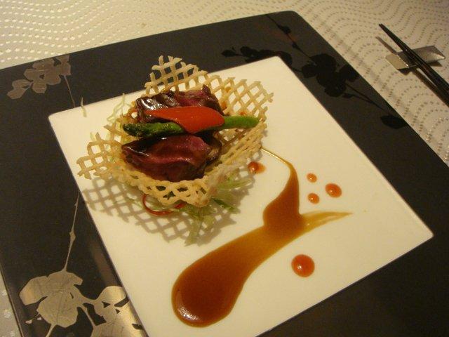 翆陽 エクシブ箱根離宮 - 国産牛ロースのカットステーキ