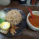 麺屋 あわざ - 魚介辛味噌つけ麺