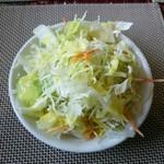 マヤデビ - サラダのドレッシングはさっぱり(≧∇≦)b ラム仕様