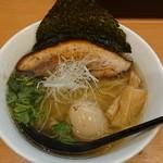 らーめん工房 麺作 - 塩そば+味タマ♪
