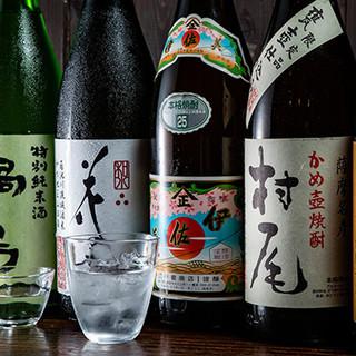 九州産の日本酒や焼酎、華やかなフルーツサワーがおすすめ★