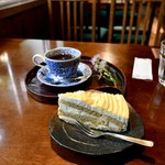 Cafe 深山 - 料理写真:ケーキセット