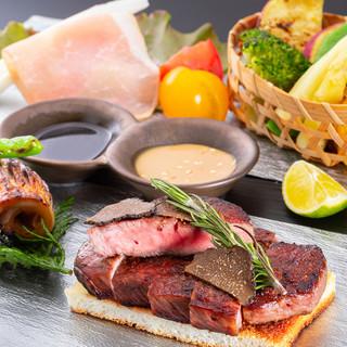 完全予約制の贅沢な肉割烹スタイル
