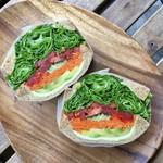 NAGICOFFEE - アボカド野菜サンド