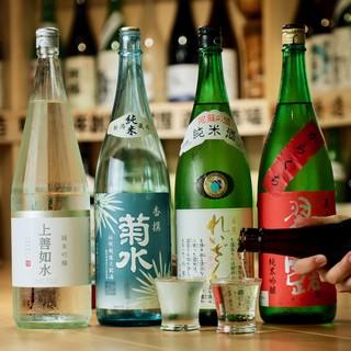 【常時50種以上‼️】豊富な日本酒400円〜