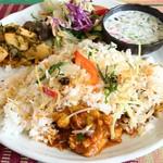 インド家庭料理 ラニ - チキンビリヤニ