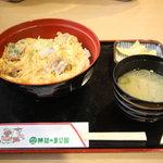 レストラン神の蔵 - 霧島親子どん 700円