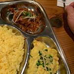 ナマステ・ネパール - マトンカレーとポテトサラダ(っぽいもの)