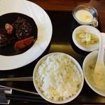 唐苑 - ランチメニュー(黒酢酢豚)