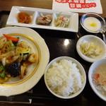 116182181 - 海鮮三種と野菜のXO醬炒め