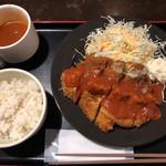 東京厨房 - デミチーズチキンカツ