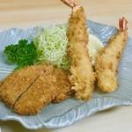三勝 - ミックスフライ定食