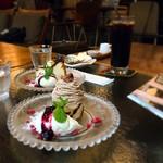 チャムアパートメント - 添えてあるバニラアイスが美味しかった♥
