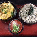 手打ちそば処粋庵 - 料理写真:かつ丼ランチ(¥900)