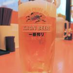 日高屋 - 生ビール290円