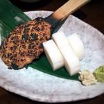 川せみ - 蕎麦前セット( ̄∀ ̄)焼き味噌と板わさ