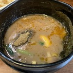 麺座ぎん - つけ汁あっぷ٩(ˊᗜ、ˋ*)و