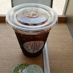 アロハサラダ - アイスコーヒー