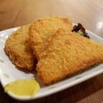 鴨川港 魚魚組 - ハムカツ(280円)
