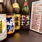 新橋うっちゃり - 季節の日本酒続々入荷中!