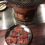 七輪炭火焼肉 味ん味ん - 料理写真: