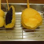ヤマハチ商店 - 野菜の串カツ ※一番最初に運ばれて来ます 2009年2月