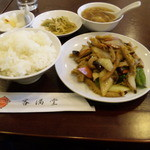 11620586 - 牛ハチノス炒め