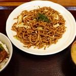 たけしや - 並+ミニチャーシュー丼セット
