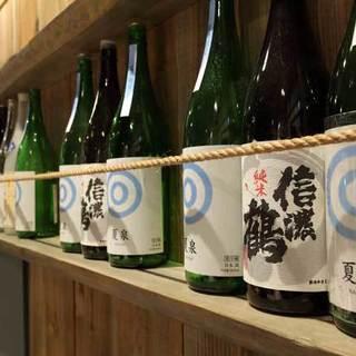 樽詰めされた新鮮な日本酒をどうぞ!