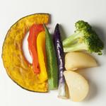カレーの王様 - 彩り野菜