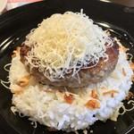116201263 - チーズインハンバーグ着皿