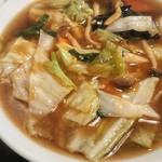 24時間 餃子酒場 - 野菜タンメン