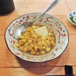 116204540 - おでん出汁のとうきびバター醤油