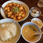 Sankyuuchuubou - 麻婆豆腐定食