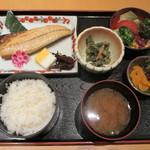 入舟 - さば焼魚定食 800円
