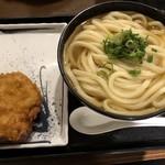 松井製麺所 - 冷かけ大とちき天 クリスピー