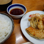 116213767 - ミックス天ぷら定食:1,080円