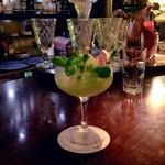 Bar Tram - Yuze avec champagne