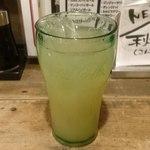 居酒屋革命 酔っ手羽 - 酔っ手羽 葛西店 ランチに付く選べるドリンクはグレープフルーツジュースで
