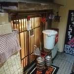 居酒屋革命 酔っ手羽 - 酔っ手羽 葛西店 地下1階にあるお店の出入口