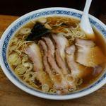 中華そば つけ麺 甲斐 - 料理写真:チャーシュー麺 950円 + 大盛 50円